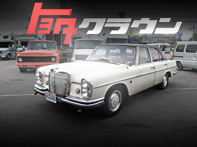 W108型ベンツボディ+内装移植!1JZ-GEエンジンATモデル!トヨタJZS141型クラウン・ロイヤルサルーンの国内中古車を掲載
