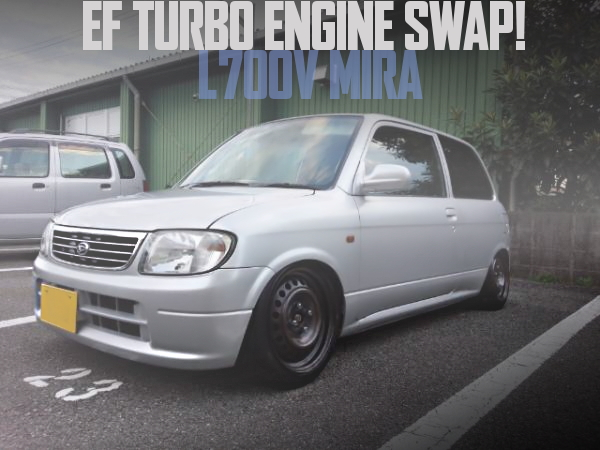 L700V MIRA EF TUEBO ENGINE