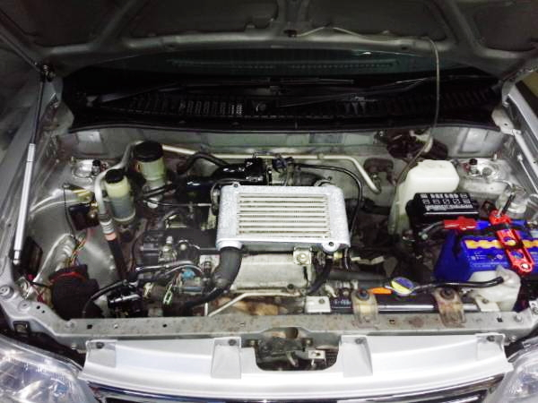 EF 660cc TURBO ENGINE SWAP