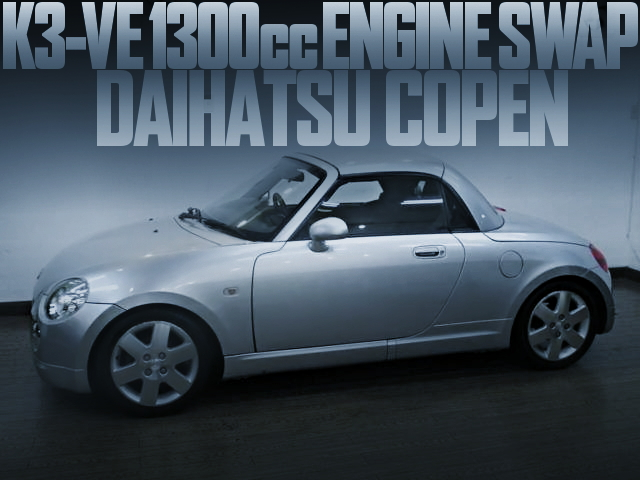 K3-VE ENGINE L880K COPEN