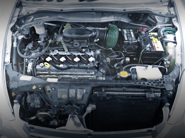 K3VE 1300cc ENGINE SWAP