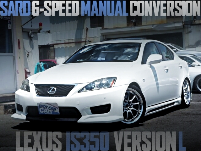 SARD 6MT LEXUS IS350