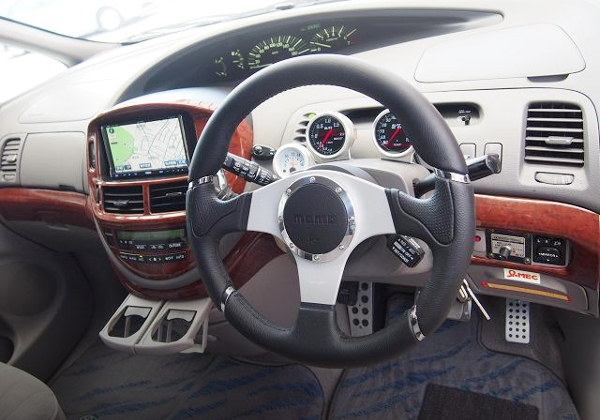 STEERING ESTIMA INTERIOR
