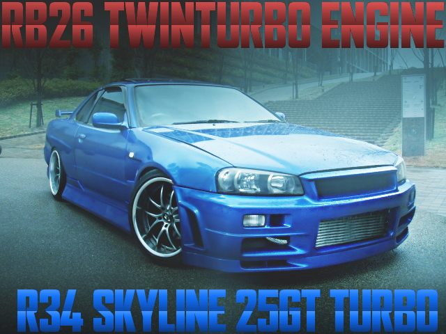 RB26 SWAP R34 SKYLINE