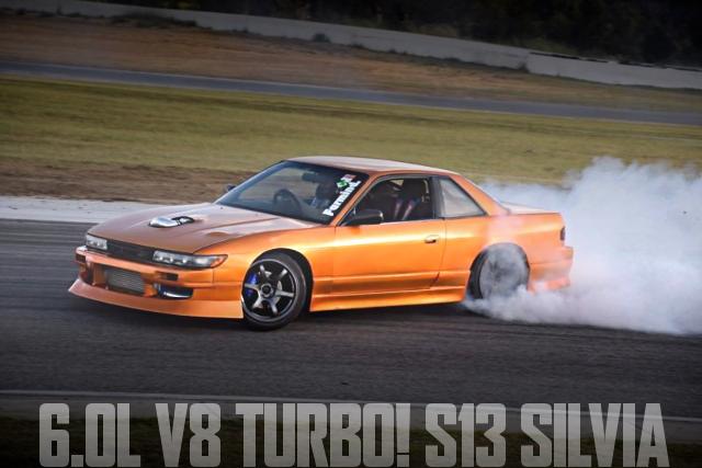 V8 TURBO DRIFT S13 SILVIA
