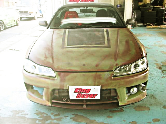 USAF PAINT S15 SILVIA FRONT