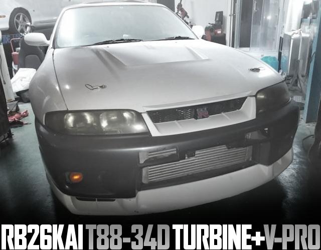 TRUST T88 TURBO R33 GTR
