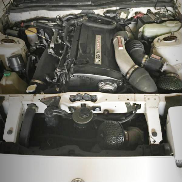 RB26 TWINTURBO ENGINE SWAP
