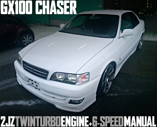2JZ 6MT TOYOTA CHASER