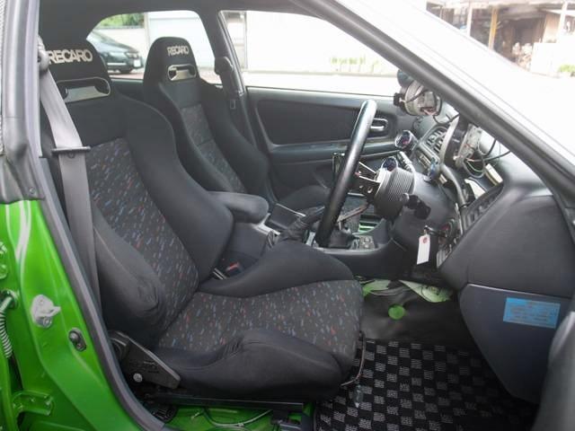 RECARO SEAT JZX100 INTERIOR