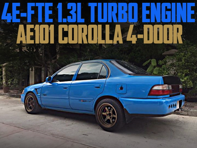 4E-FTE SWAP AE101 COROLLA SEDAN