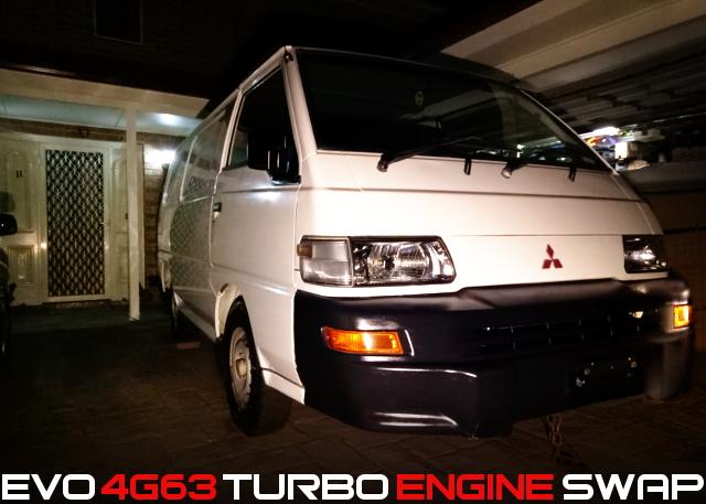 4G63 TURBO SWAP EXPRESS VAN