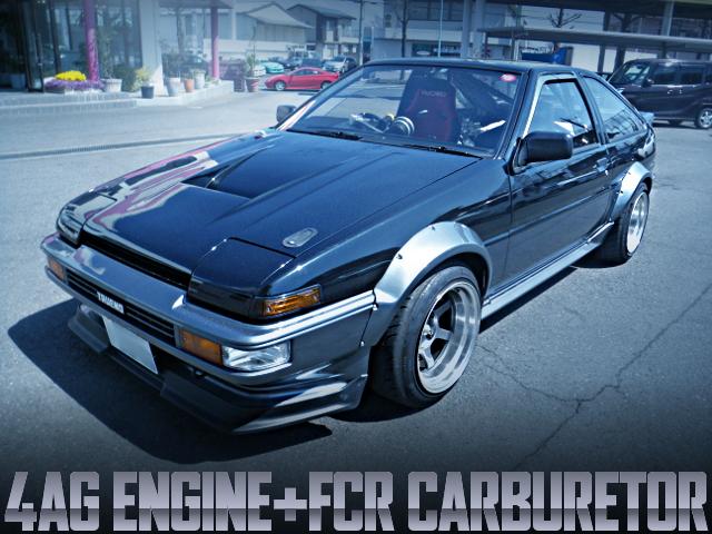 4AG FCR CARBURETOR AE86 TRUENO