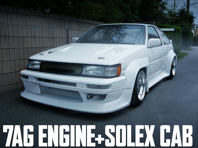 7AG SOLEX CAB AE86 LEVIN