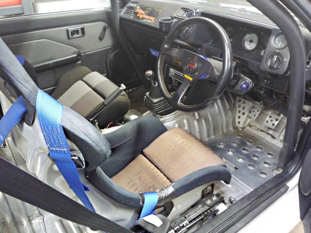 INTERIOR AE86 COROLLA LEVIN