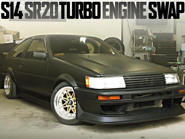 SR20 TURBO ENGINE AE86