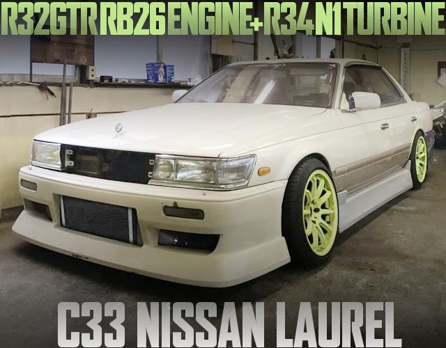RB26 ENGINE C33 LAUREL