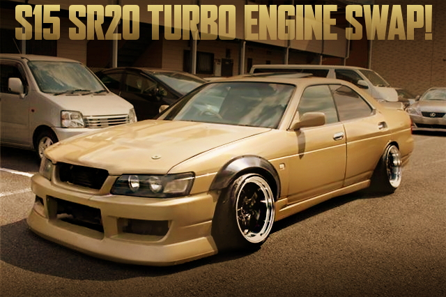 SR20DET WIDEBODY C35 LAUREL