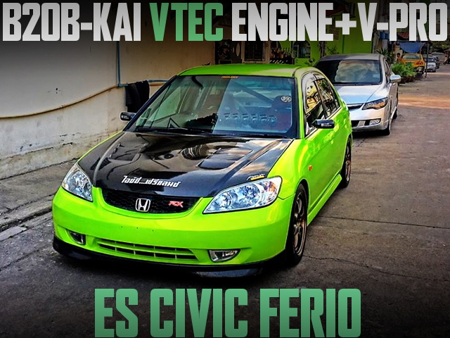 B20B VTEC ENGINE ES CIVIC FERIO