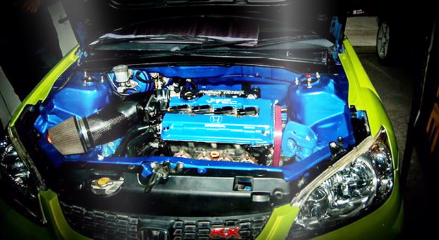 B20B VTEC ENGINE SWAP