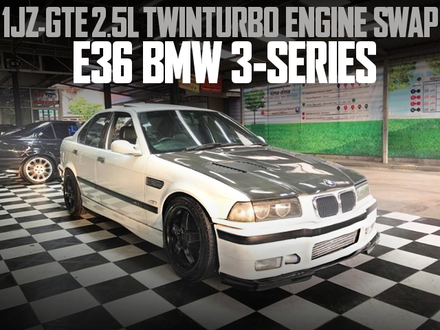 1JZ TWIN TURBO BMW 3-SERIES