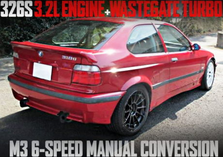 3200 TURBO 6MT E36 BMW Ti