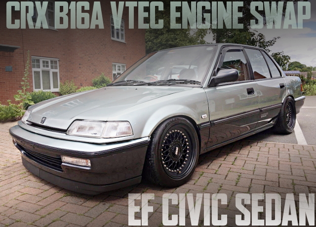B16A VTEC ENGINE EF CIVIC SEDAN