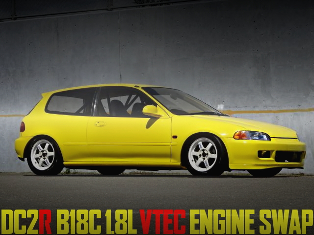 B18C VTEC EG6 CIVIC SiR2