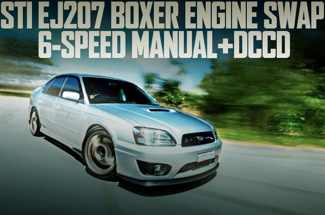 EJ207 BOXER 6SPEED BE B4