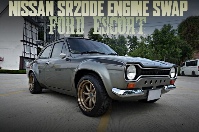 SR20DE SWAP FORD ESCORT