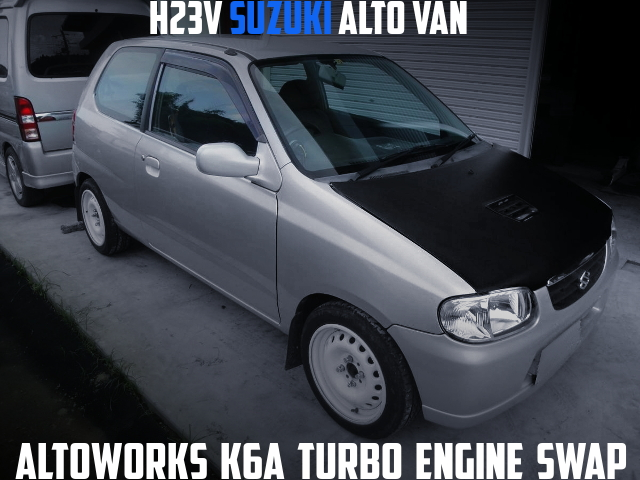 K6A TURBO SWAP HA23V ALTO VAN