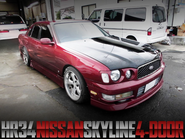 Y33 FACE R34 SKYLINE 4-DOOR