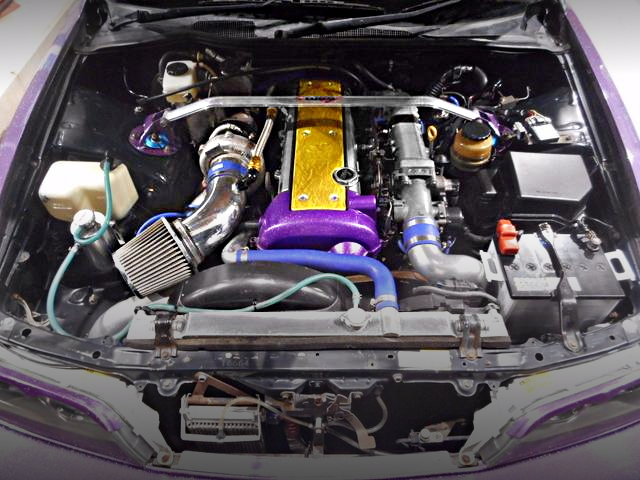 1JZ-GTE VVTi TO4S TURBO ENGINE