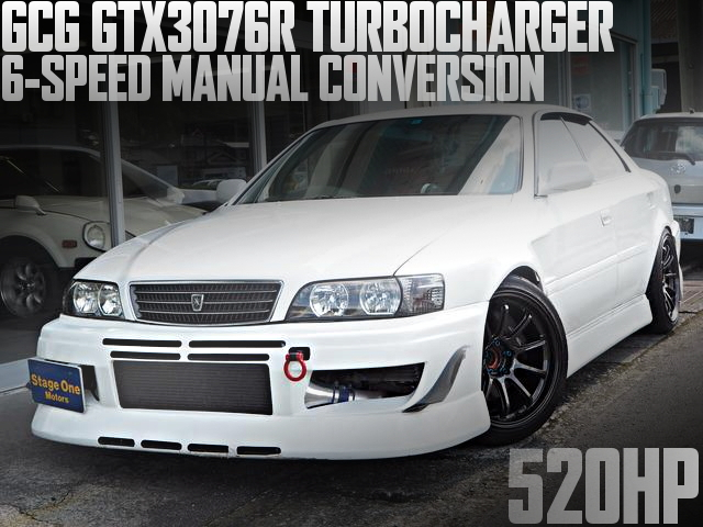 GCG GTX3076R TURBO JZX100 CHASER