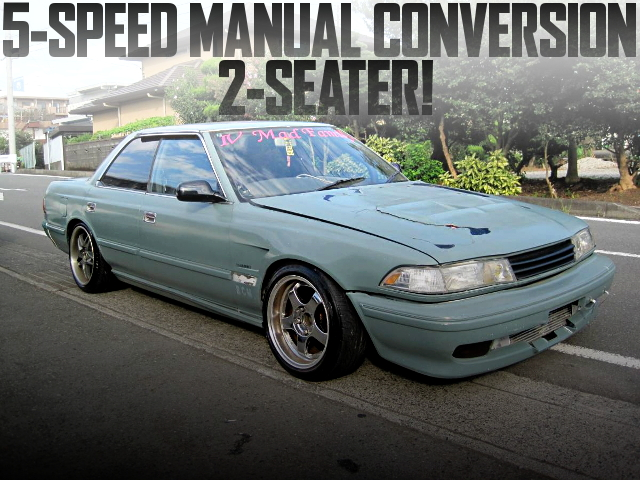 5-SPEED MANUAL JZX81 MARK2