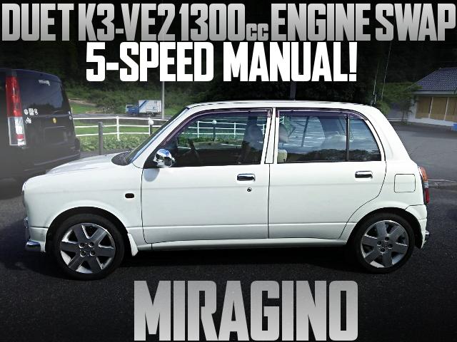 K3VE2 ENGINE MIRAGINO