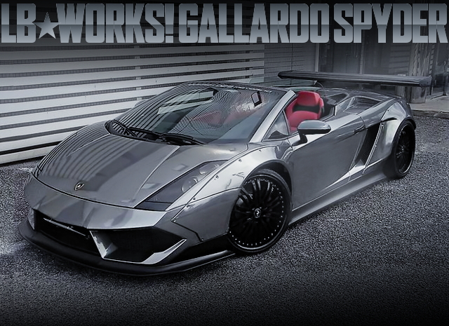 LB WORKS GALLARDO SPYDER