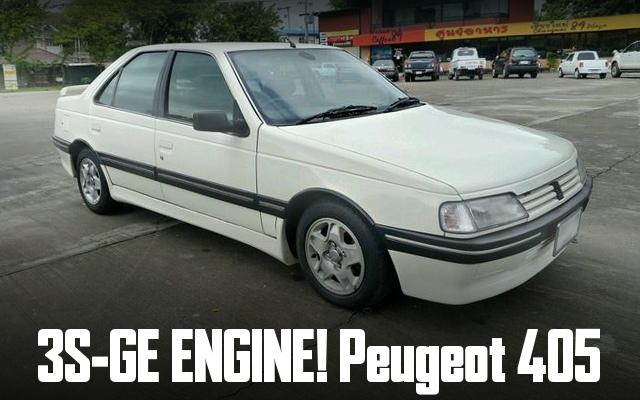 3S-GE SWAP PEUGEOT405