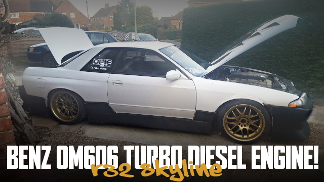 DIESEL TURBO ENGINE R32 SKYLINE