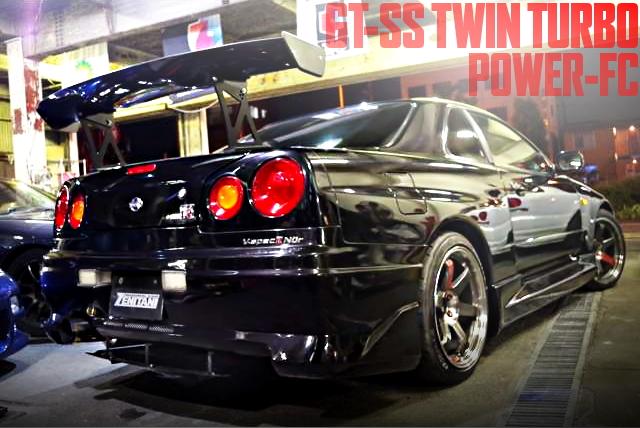 GT-SS TWINTURBO R34GTR