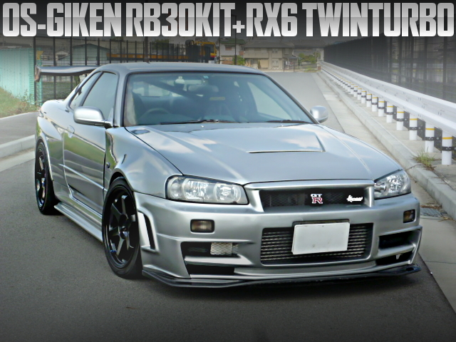 RB30 RX6 TWIN TURBO R34GTR
