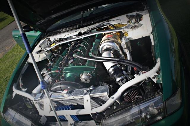 RB30DET ENGINE GT3076 TURBINE