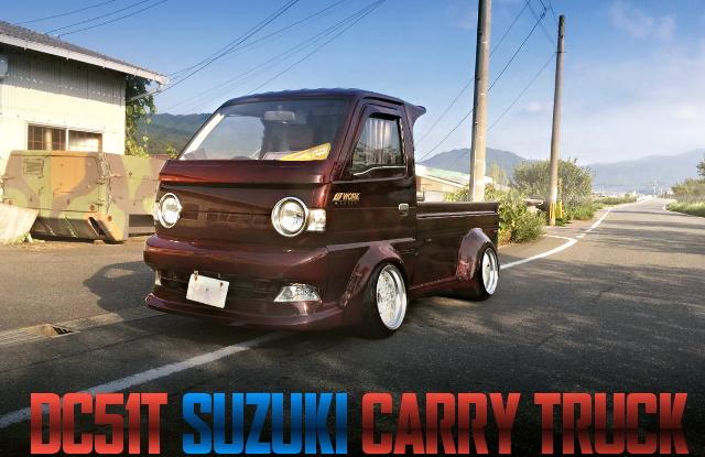 WIDE BODY SUZUKI CARRY TRUCK