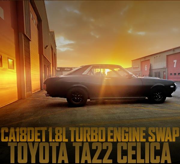 CA18DET SWAP TA22 CELICA