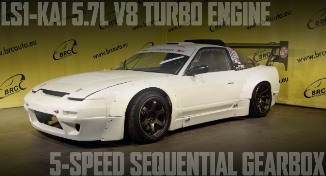 V8 TURBO NISSAN 200SX