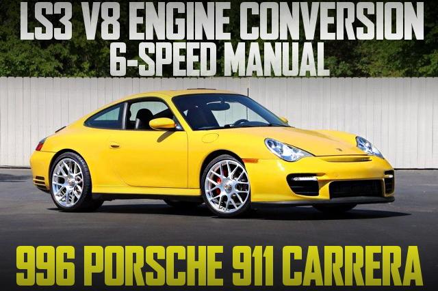 LS3 V8 ENGINE PORSCHE 996