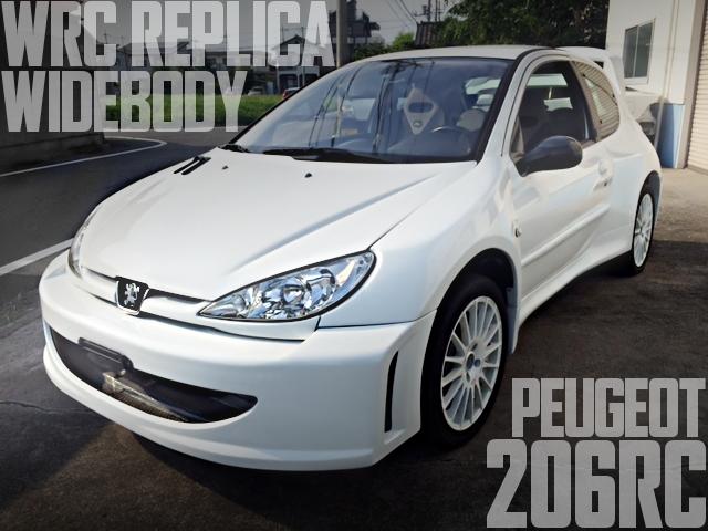 PEUGEOT 206 WRC REPLICA