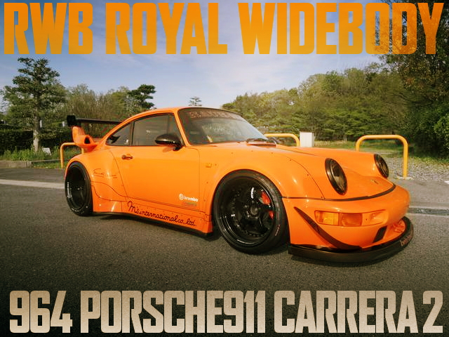 RWB ROYAL WIDE 964 PORSCHE 911