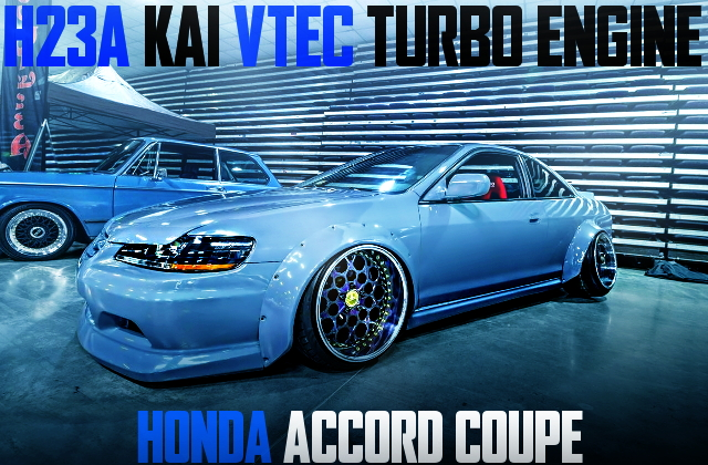 H23A VTEC TURBO ACCORD COUPE