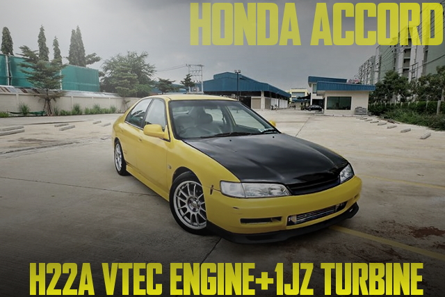 H22A TURBO ACCORD SEDAN